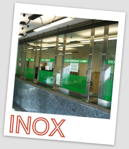 LAVORAZIONI INOX